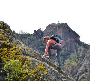 Megan hiking [where] in [year]